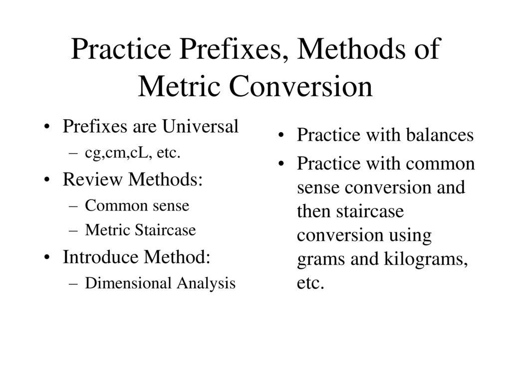 metric conversions - shortcut method - YouTube