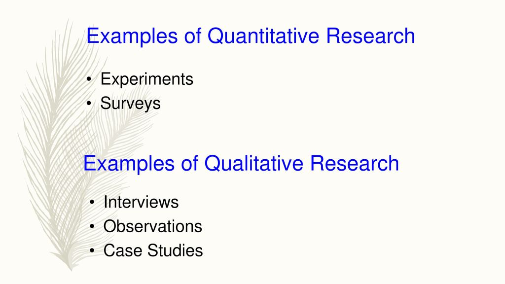 Qualitative Research Methodology Ppt Download
