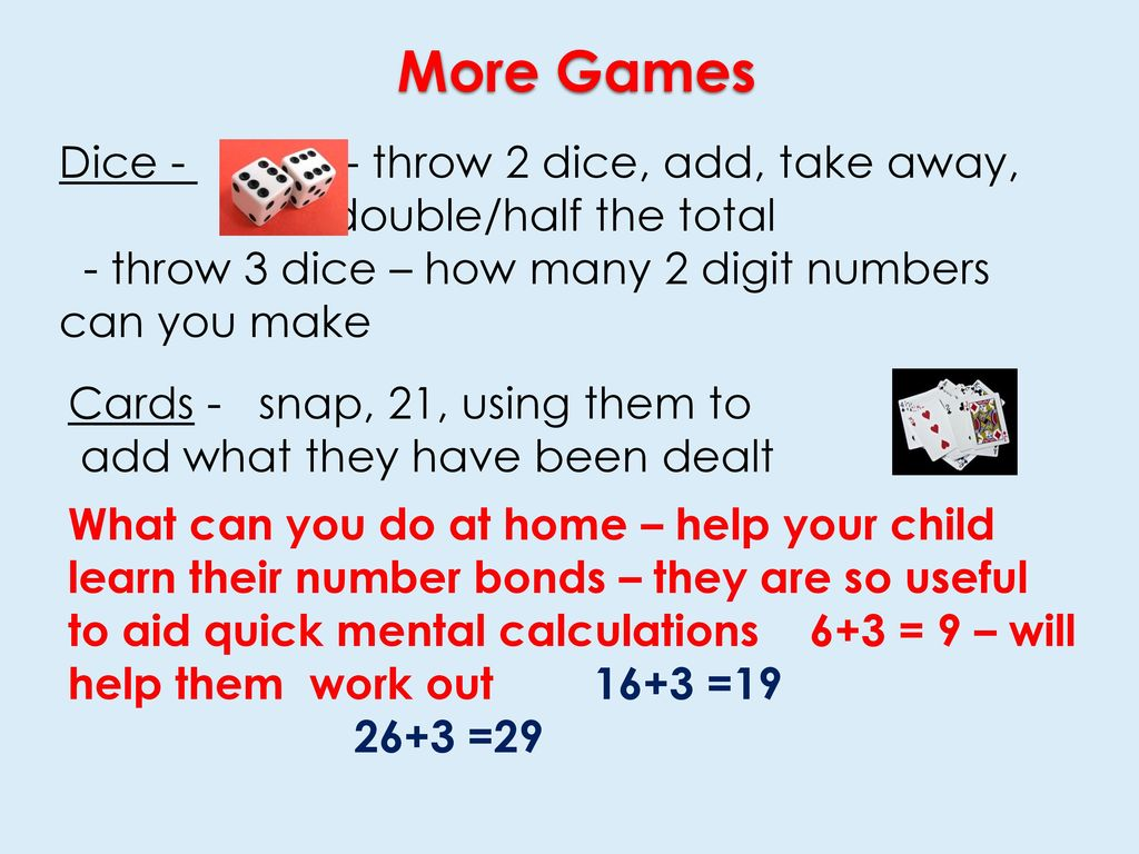 Help With Number Bonds To order of operations challenge problems ...