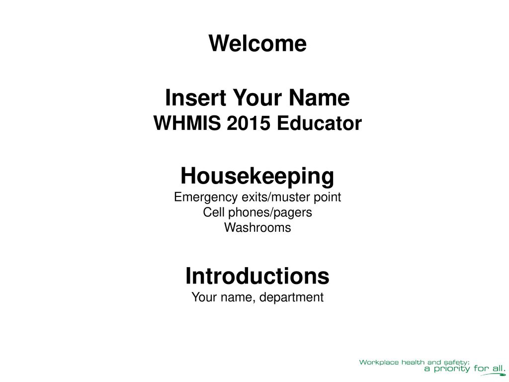 Whmis 2015 education for workers ppt download 2 emergency buycottarizona Image collections