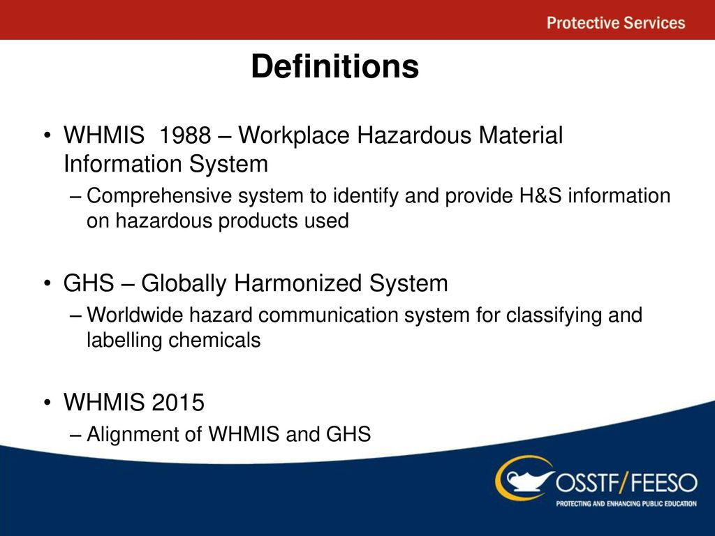 Whmis ppt download definitions whmis 1988 workplace hazardous material information system buycottarizona Image collections