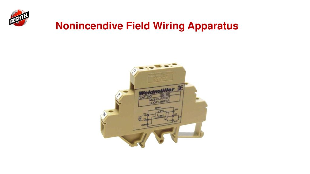 nonincendive installations for class i div 2 areas ppt download rh slideplayer com Non-Incendive Field Wiring Non-Incendive Wiring Methods
