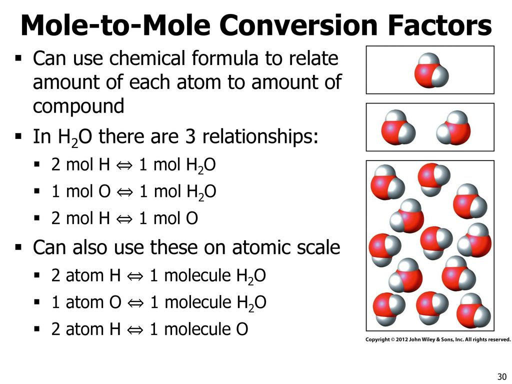The mole and stoichiometry ppt download 30 mole to mole conversion factors nvjuhfo Choice Image