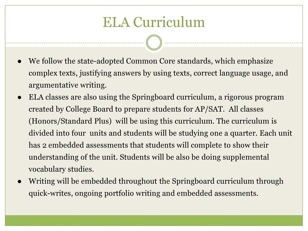 6th grade bailey middle school ppt download ela curriculum fandeluxe Choice Image