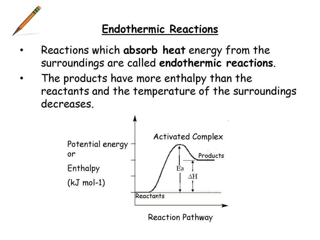 Higher chemistry controlling the rate ppt download 11 endothermic reactions pooptronica Images