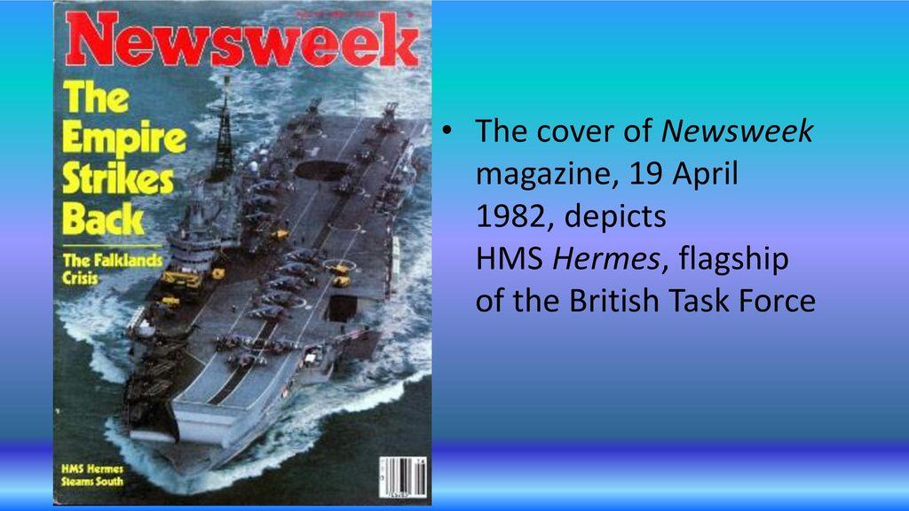 falklands war news week