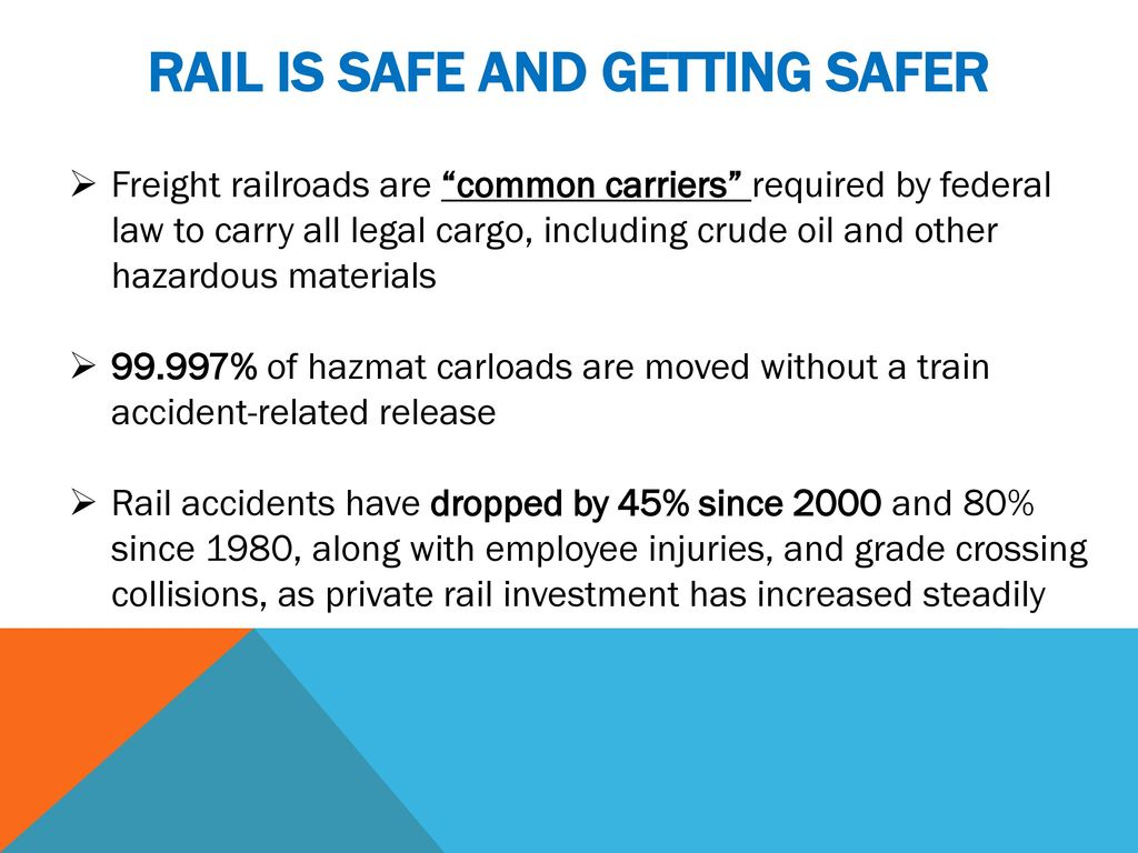 Railroad Safety Update - ppt download