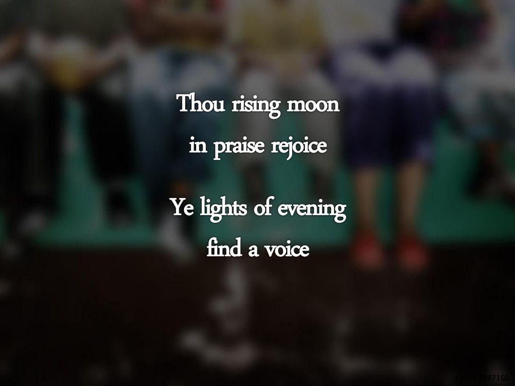 finde a voice