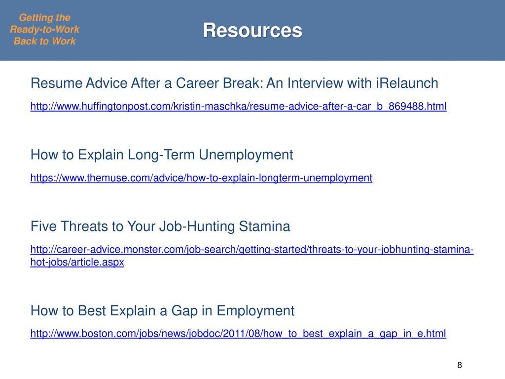 Job Seeker Branding and Job Search Strategies to Help the Long ...