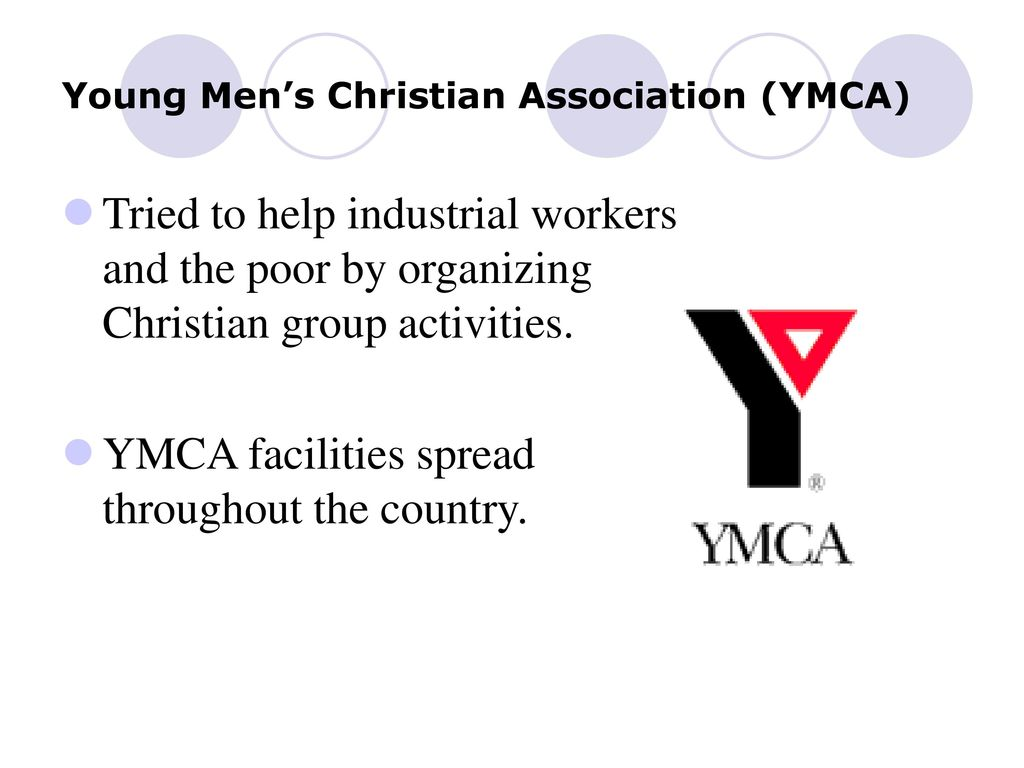 young men christian association