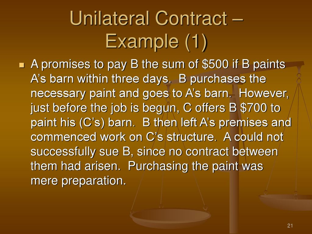 Lectures 6 7 Contracts Sales Ppt Download