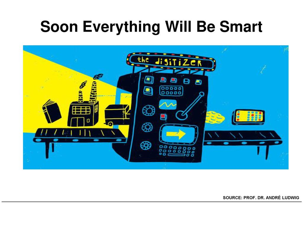 Soon Everything Will Be Smart