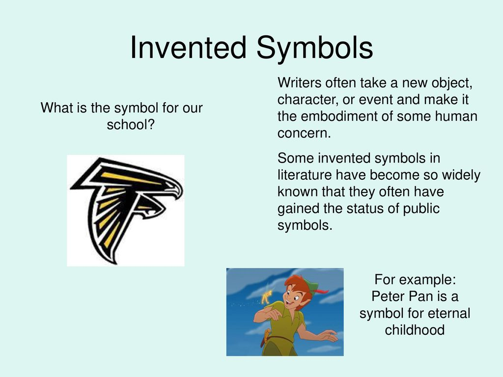 Symbolism in literature ppt download invented symbols writers often take a new object character or event and make it biocorpaavc Images
