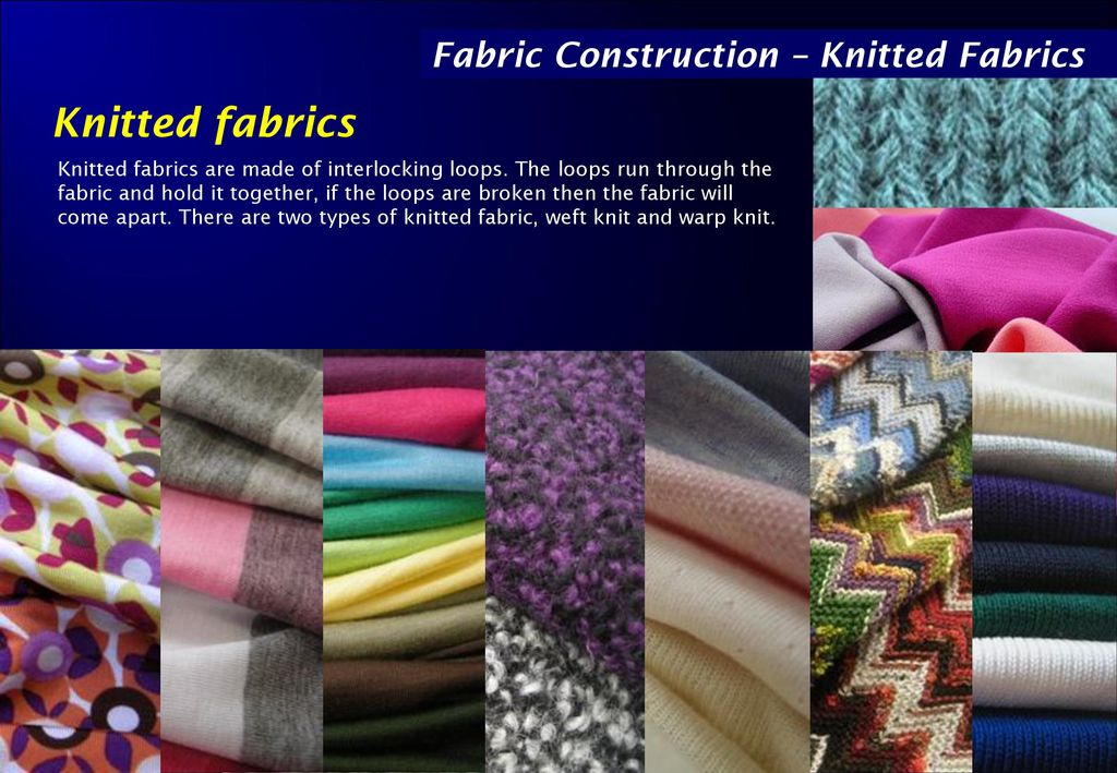 Knitting Fabric Construction : Fabric construction: knitted ppt download