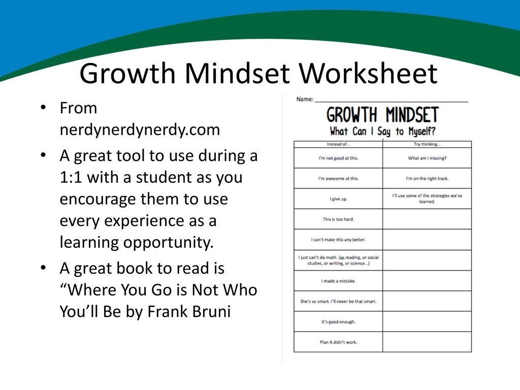 worksheet Growth Mindset Worksheet holistic readiness for students ppt download 23 growth mindset worksheet