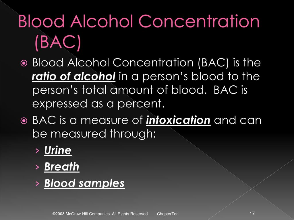 Alcohol ppt download 17 blood alcohol concentration nvjuhfo Choice Image