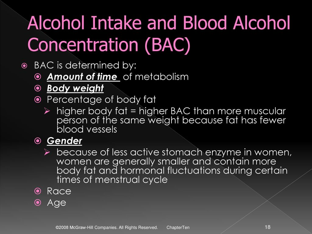 Alcohol ppt download alcohol intake and blood alcohol concentration bac nvjuhfo Choice Image