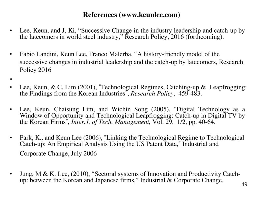 the economics of the latecomers catching up technology transfer and institutions in germany japan and south korea