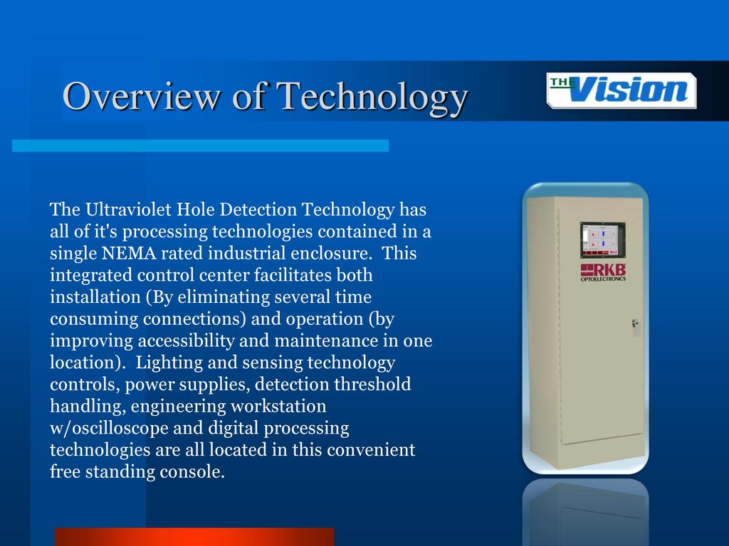 hole detection system