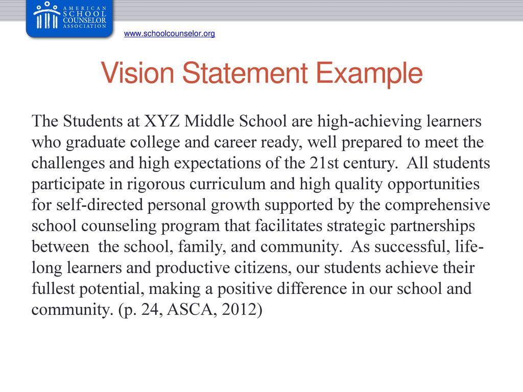 career vision statement sample yelom digitalsite co
