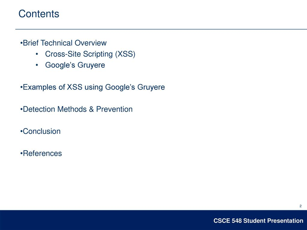 Googles Gruyere1 An Xss Example Presented By Terry Gregory Ppt