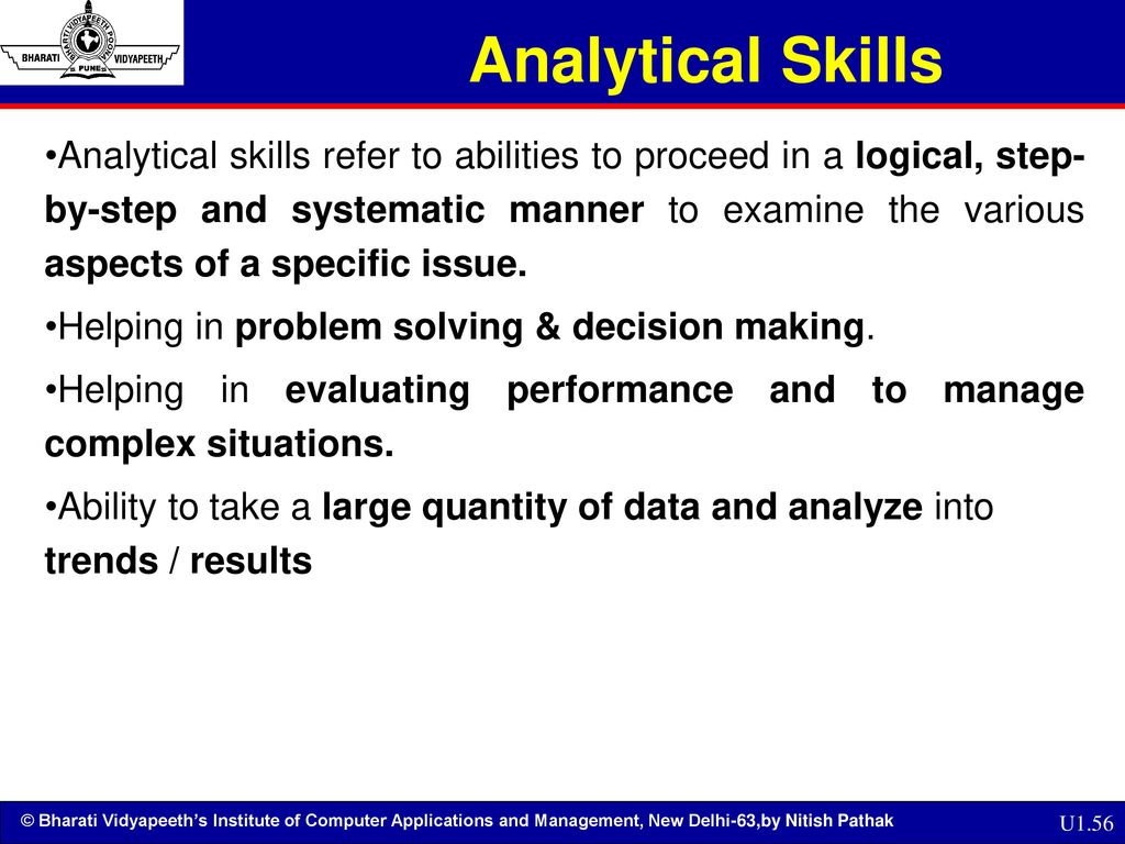 what are analytical abilities