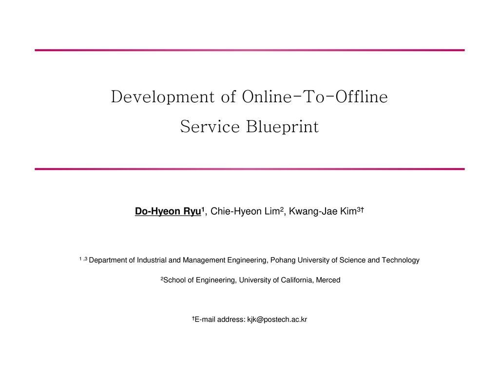 Development of online to offline service blueprint ppt download development of online to offline service blueprint malvernweather Choice Image