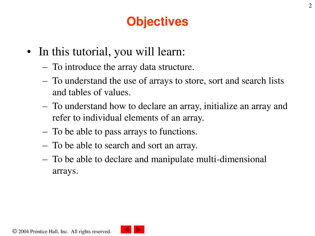 Chapter 11 javascript arrays ppt download in this tutorial you will learn baditri Gallery
