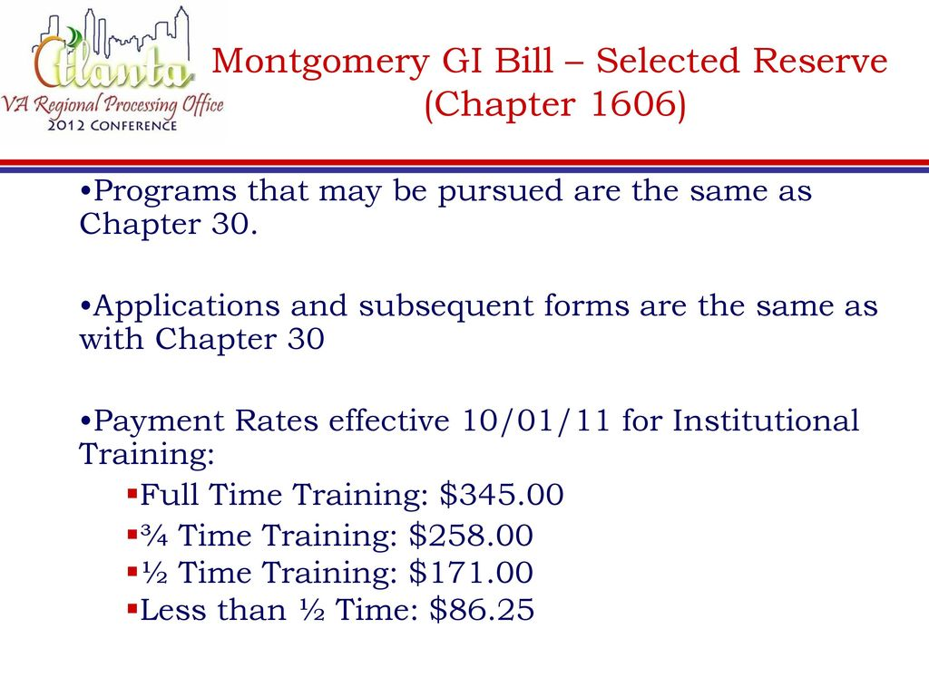gi bill forms