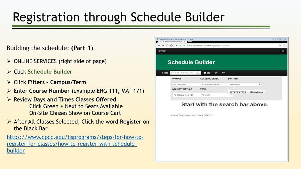 online schedule generator