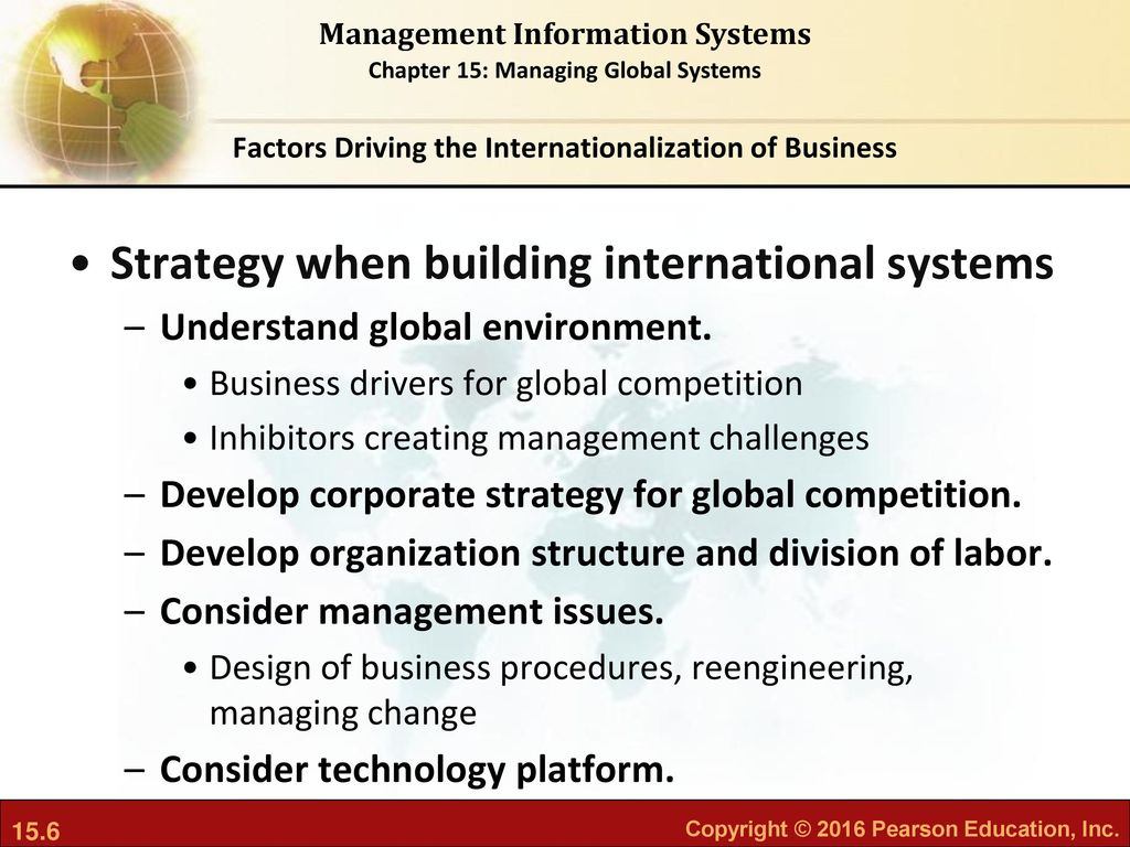 what major factors are driving the internationalization of business Other factors that are important include the network of the business that will  the  trends, factors driving internationalization of companies and the benefits  of the  firms in the network with price being one of the major factors.