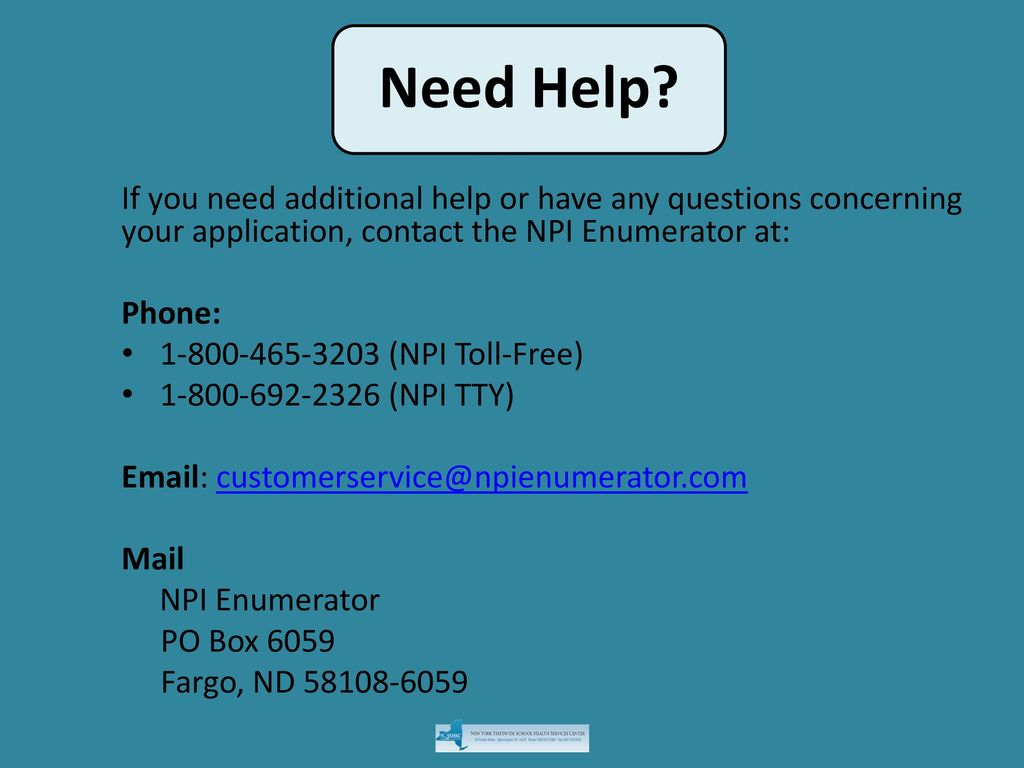 How To Apply For An Npi Instructions For Completing The National