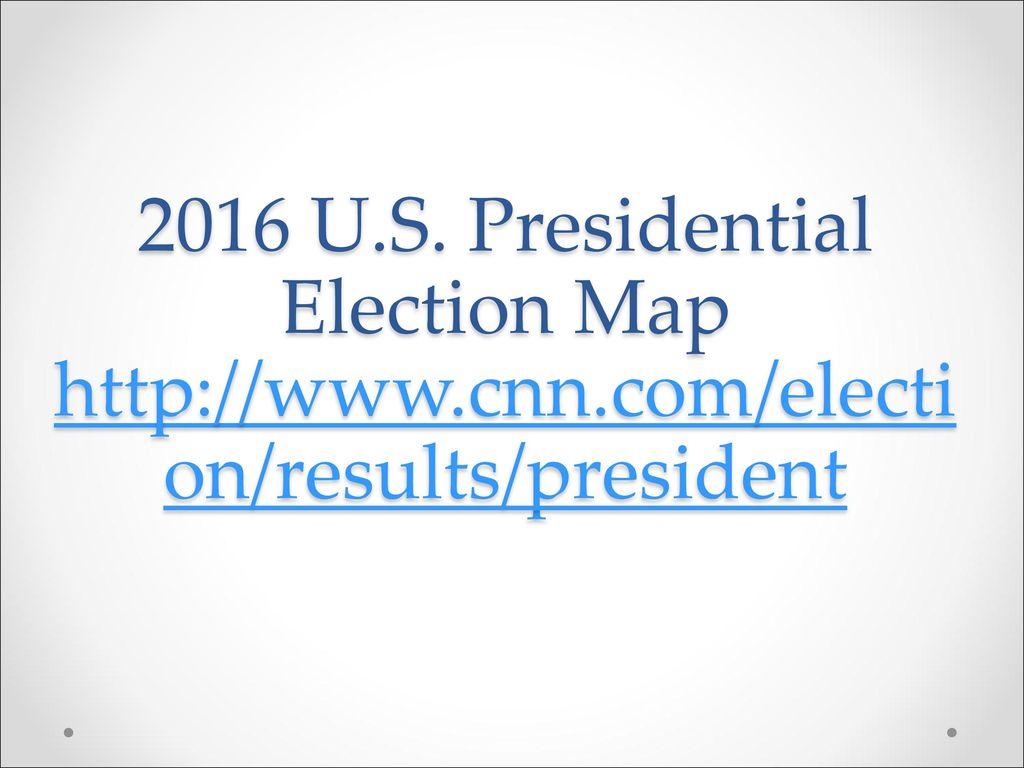 Cnn us election map