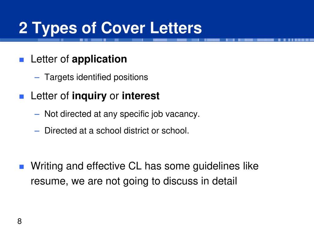 Outline Definition of Resume and CV Resume vs. CV Cover Letter ...