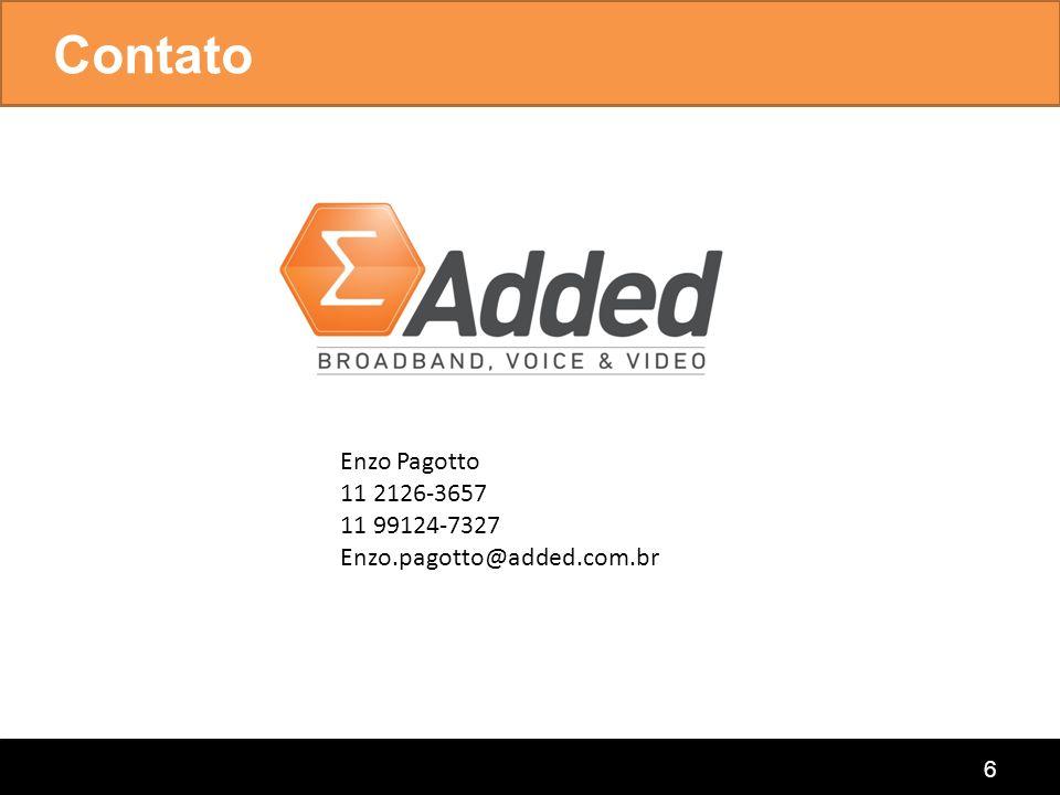 Contato Enzo Pagotto 11 2126-3657 11 99124-7327