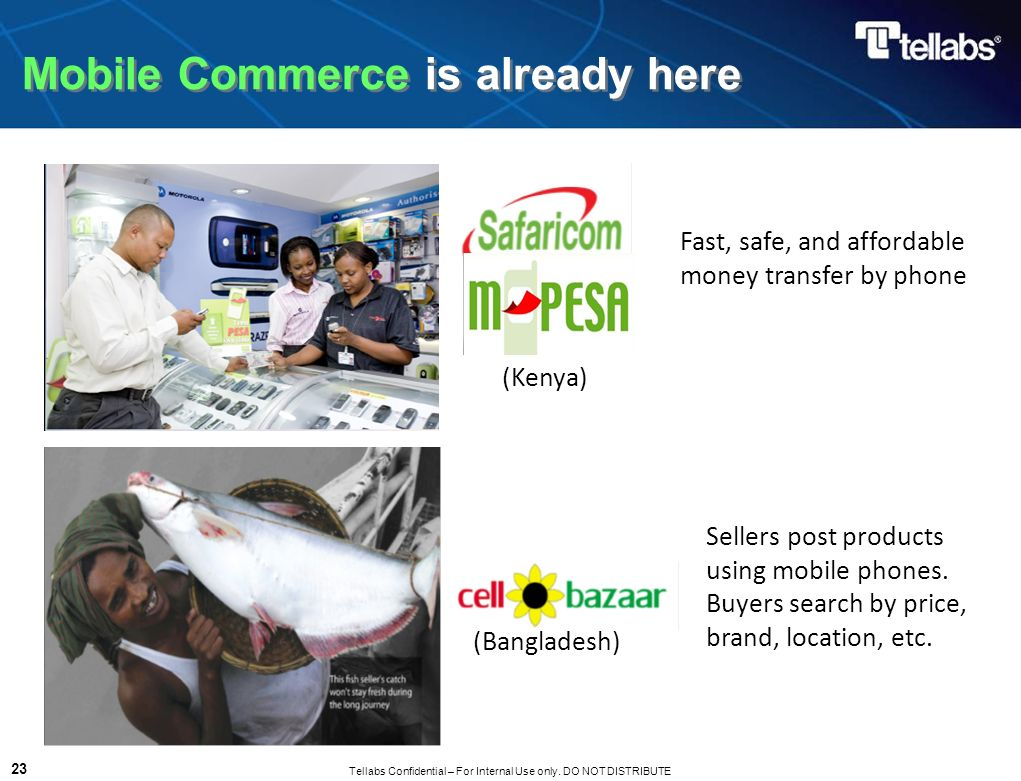 Mobile Commerce is already here