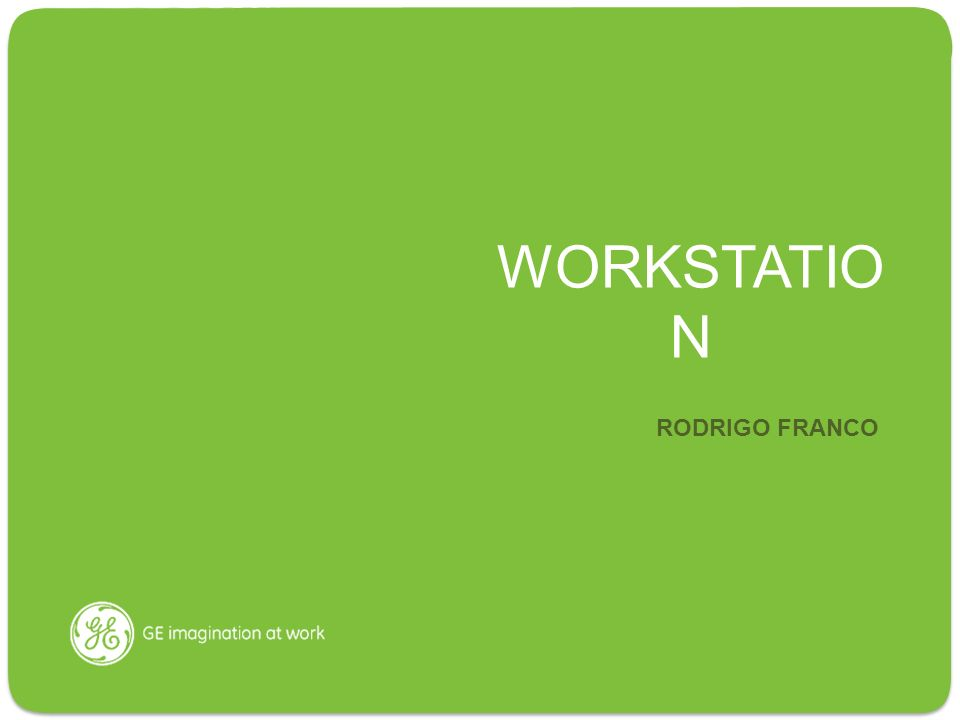 WORKSTATION RODRIGO FRANCO