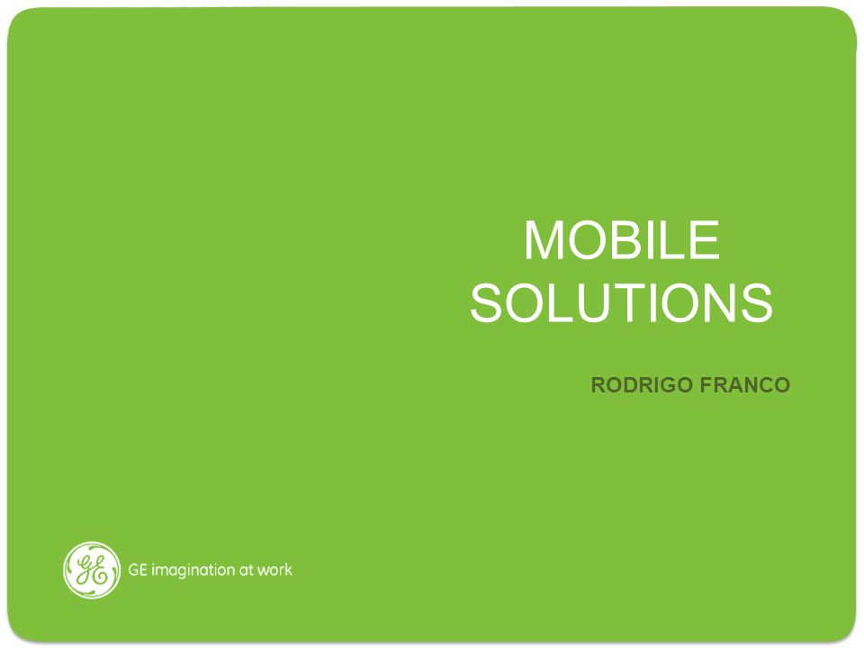 MOBILE SOLUTIONS RODRIGO FRANCO