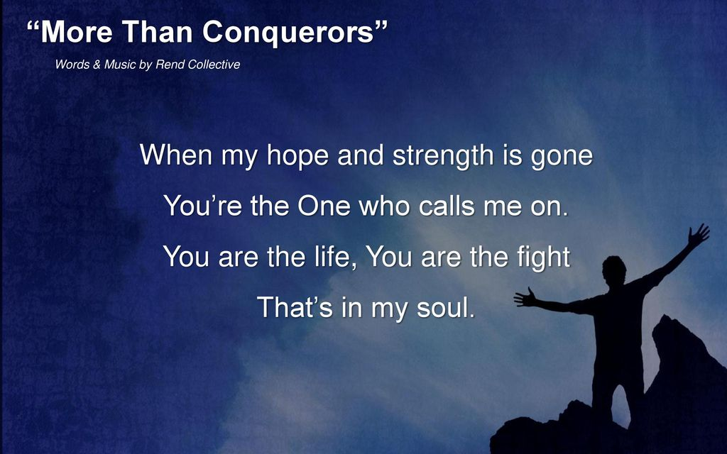 More Than Conquerors Song Rend Collective The Best Of More 2017