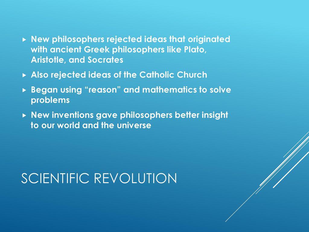 The Scientific Revolution Summary Ha