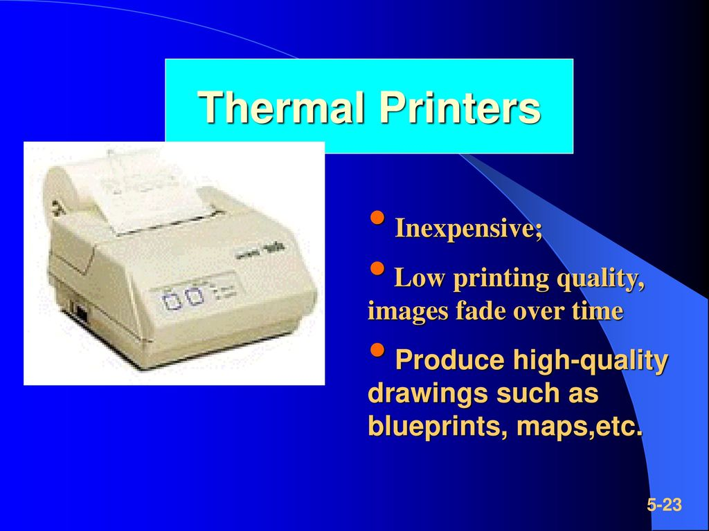 Thermal Printers Inexpensive;
