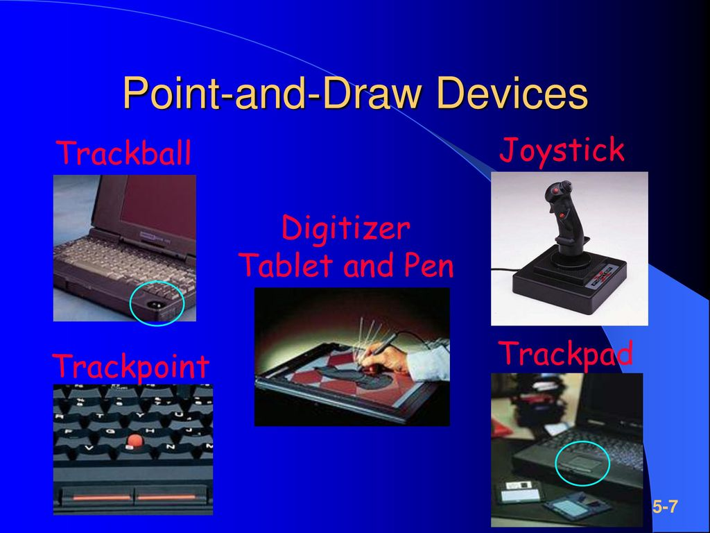 Point-and-Draw Devices