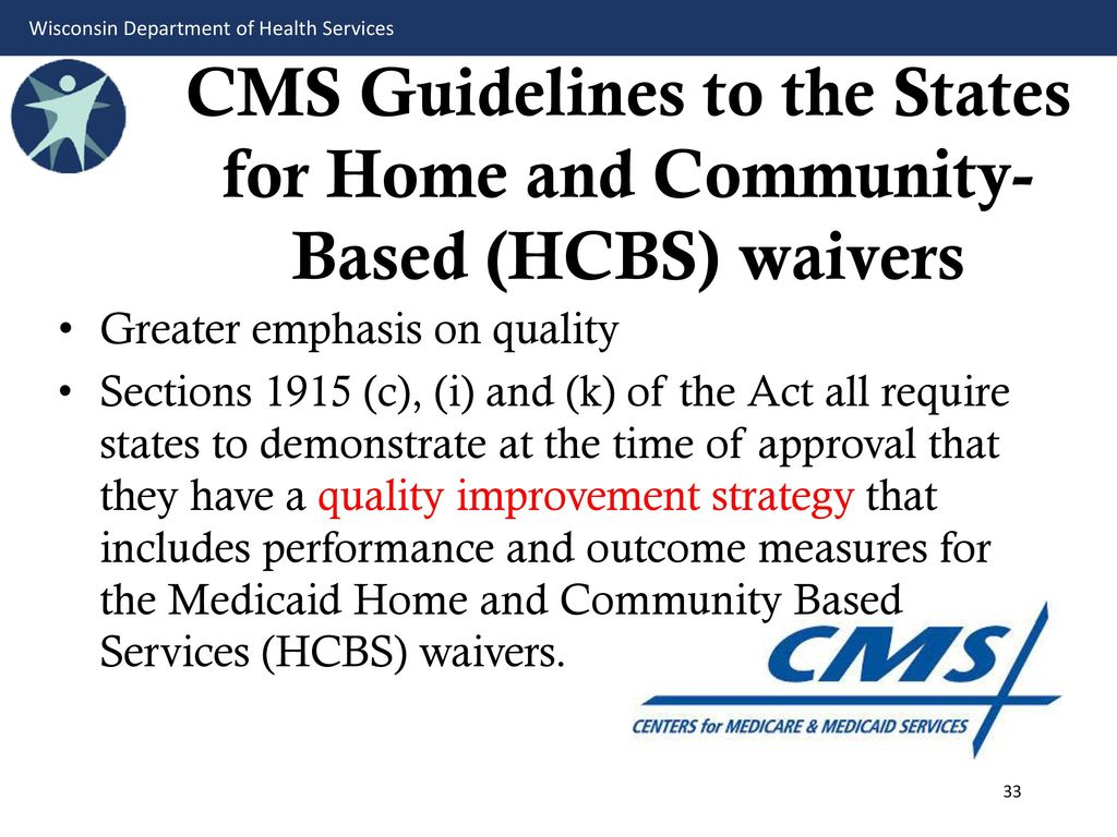 Old Fashioned Medicaid Home And Community Based Waiver Program Photo ...
