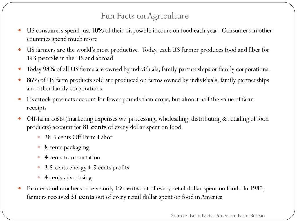 The Economic Impact of Agriculture in Southern New Jersey - ppt download