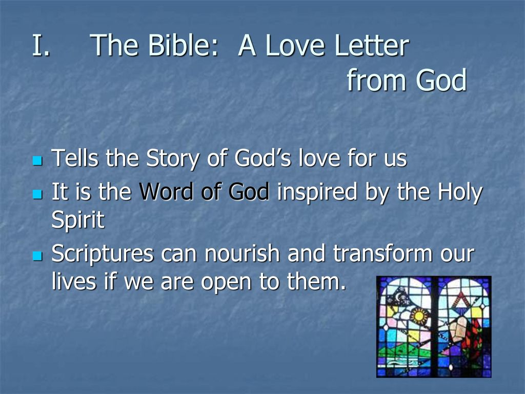 The Bible A Love Letter From