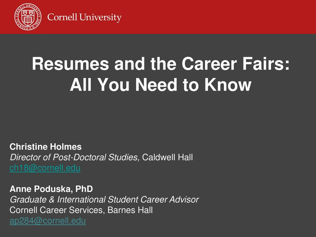 When is the UniversityWide Career Fair ppt download