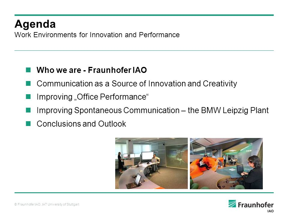 Work Environments for innovation and performance - ppt video online ...
