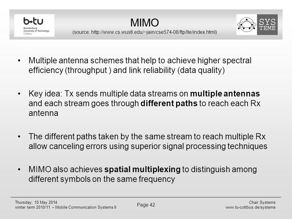 MIMO (source: http://www. cs. wustl. edu/~jain/cse574-08/ftp/lte/index