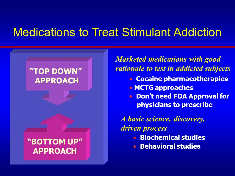 Medications to Treat Stimulant Addiction