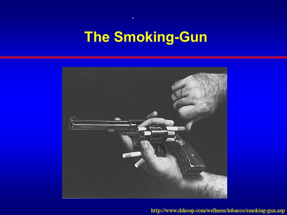 ` The Smoking-Gun http://www.drkoop.com/wellness/tobacco/smoking-gun.asp
